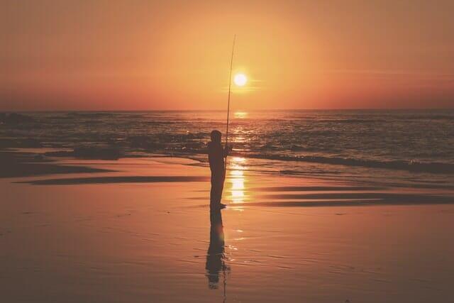 Surf Fishing for Flounder